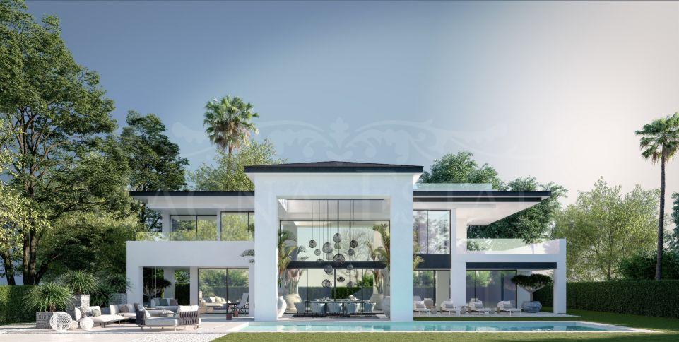 Brand new villa on the beach of San Pedro Alcántara, Marbella