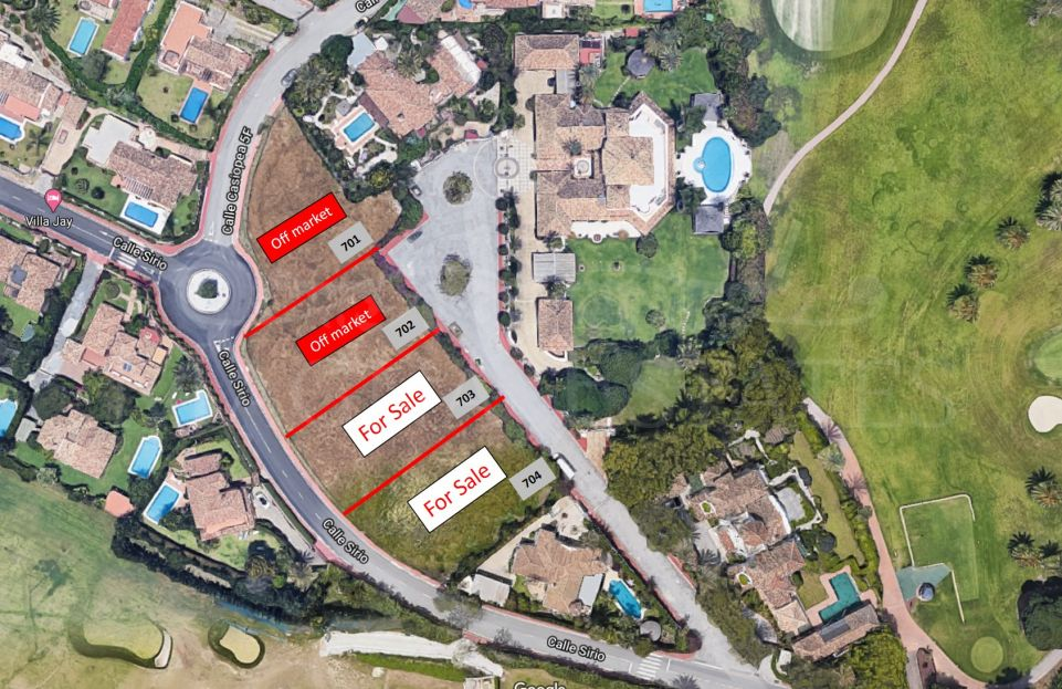 The best plots for sale in Nueva Andalucía