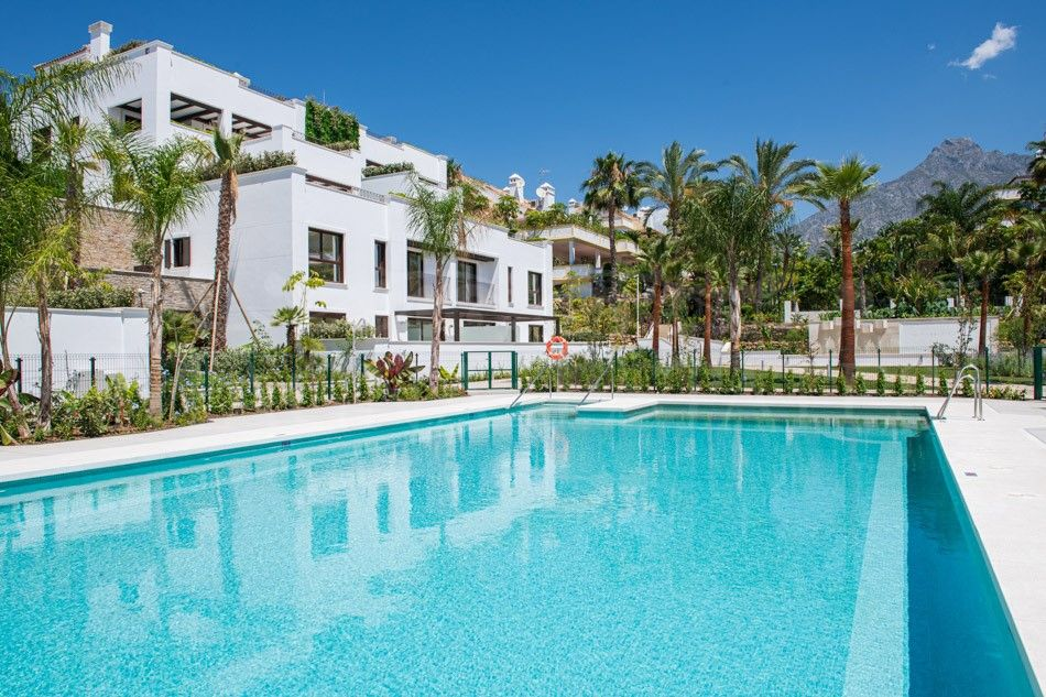 Brand new duplex penthouse in the Golden Mile of Marbella