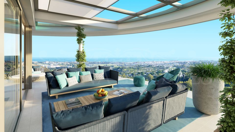 Apartamento de alto diseño e impresionantes vistas en Benahavís