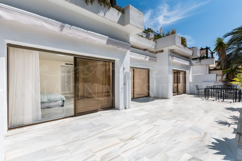 Apartamento recién reformado en Las Lomas del Marbella Club