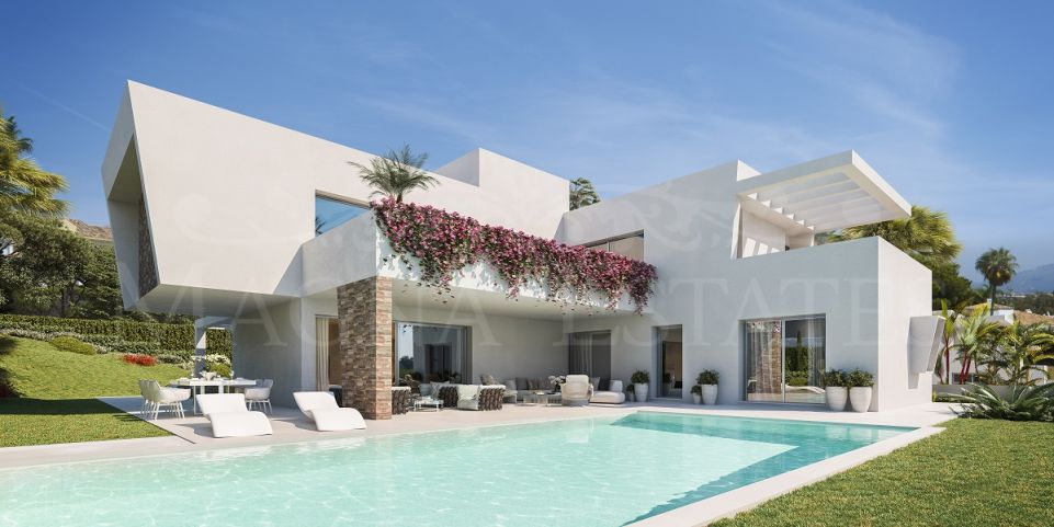 Villas of contemporary design at a great price in Atalaya