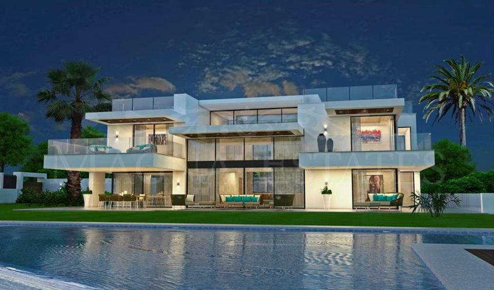 Spectacular large brand new villa in Guadalmina Baja, Marbella