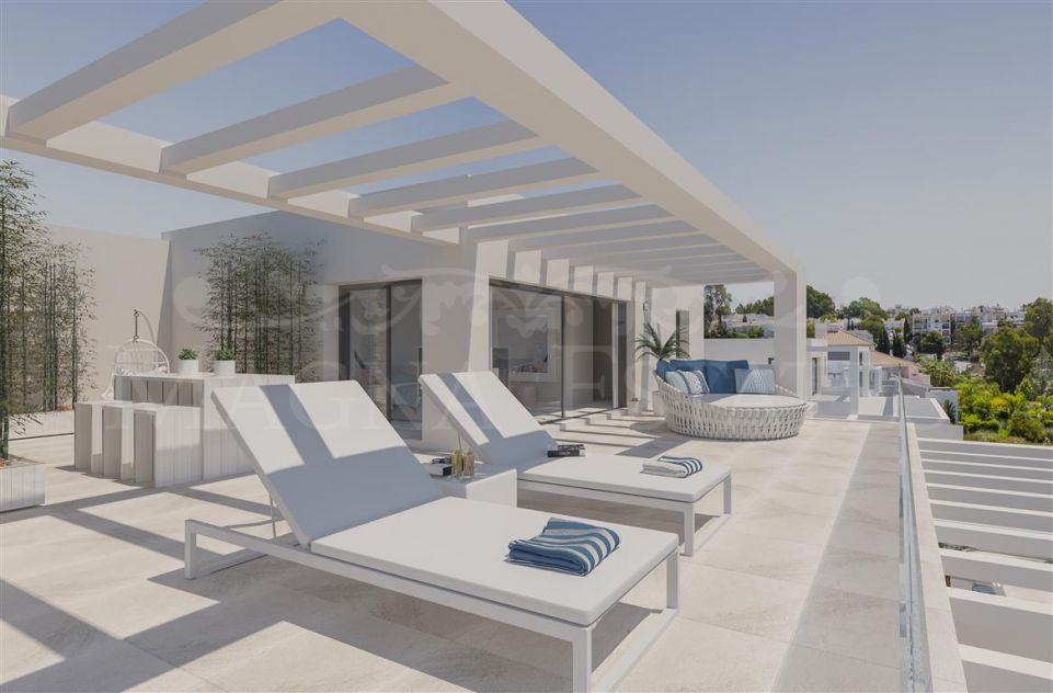 Apartments in the area of ​​El Campanario, Estepona, New Golden Mile