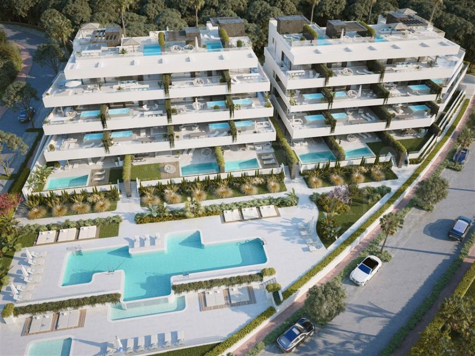 Brand new apartments in El Campanario, on the edge of Marbella