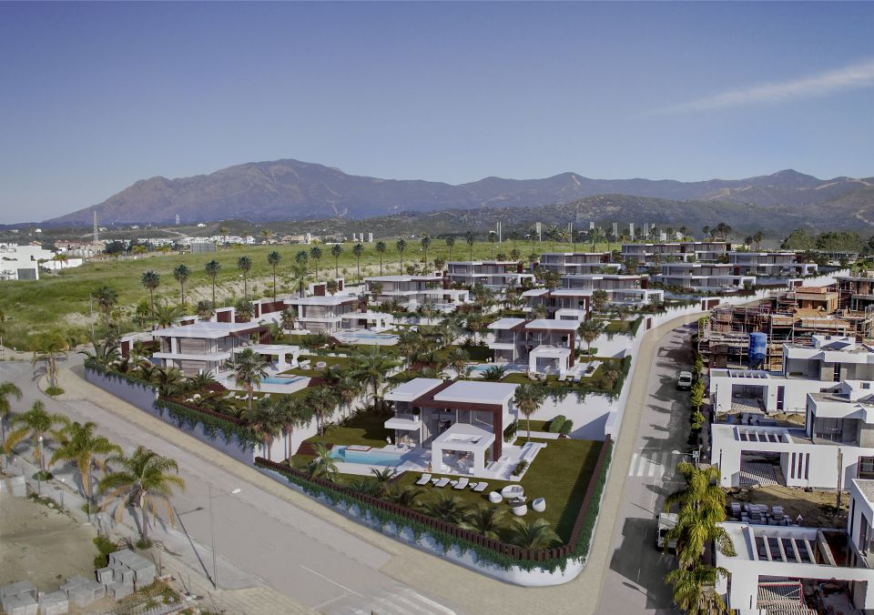 Velvet, luxury villas with seaviews in Cancelada, Estepona