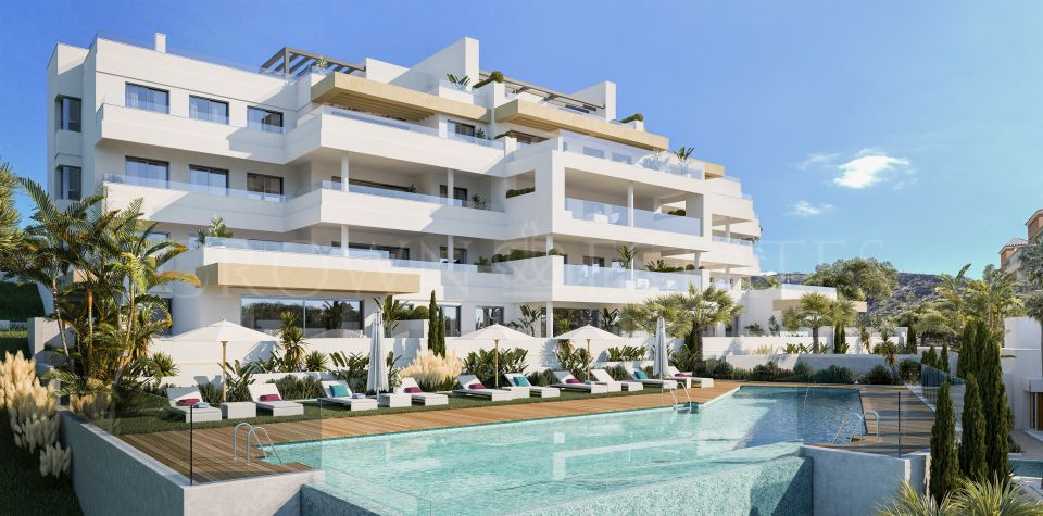 South Bay Las Mesas II, avant-garde homes with priveleged sea views in Estepona town