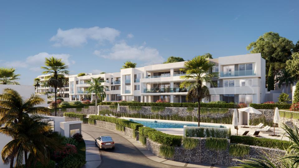 Master plan development in Marbella
