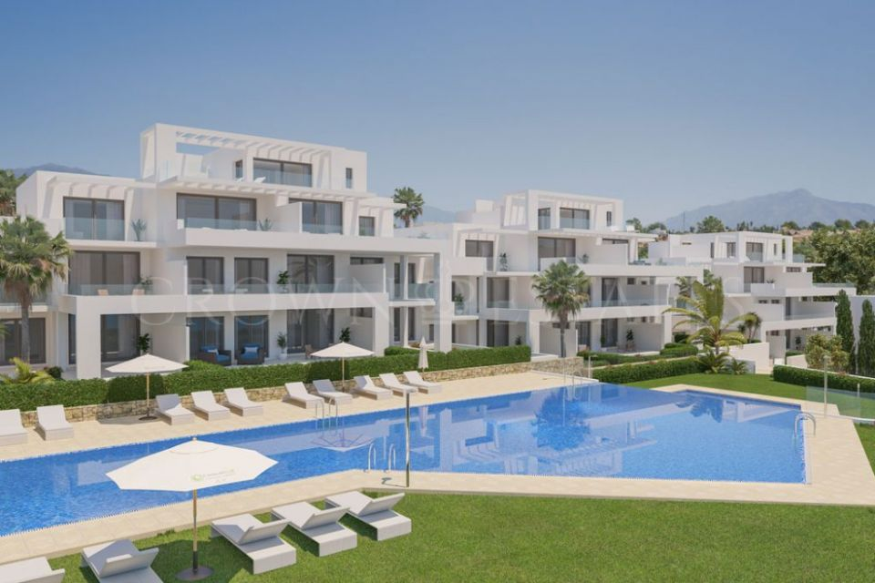 Cortijo del Golf, modern apartments and penthouses in the prestigious ara of El Campanario in Estepona