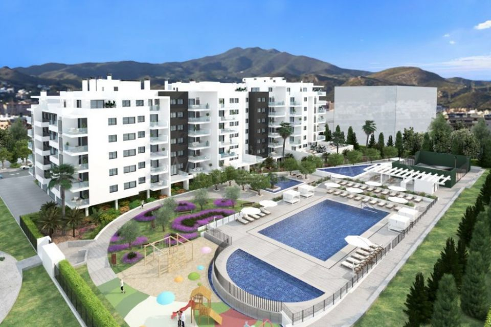 Living Teatinos, apartments and penthouses perfect for families in Malaga city.