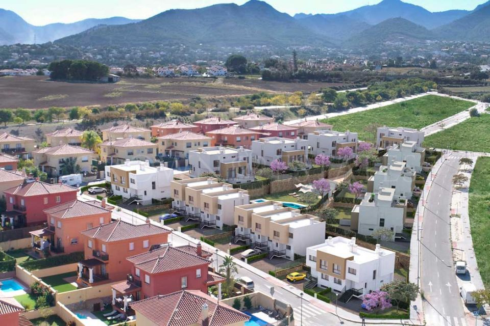 Finca Peralta Garden, townhouses and semi-detached houses in Alhaurín el Grande