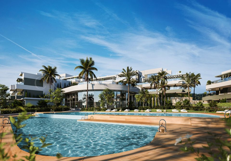 Mesas Homes offers a total of 187 one, two, three or four bedroom apartments located in the city of Estepona. Its privileged location offers beautiful views over the bay of Estepona.