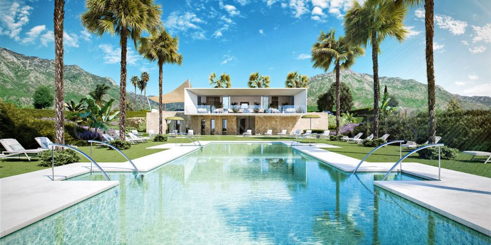 36 exclusive villas in the heart of Benalmadena, within the natural park of Torremuelle and privileged views to the Mediterranean Sea and its coast.
