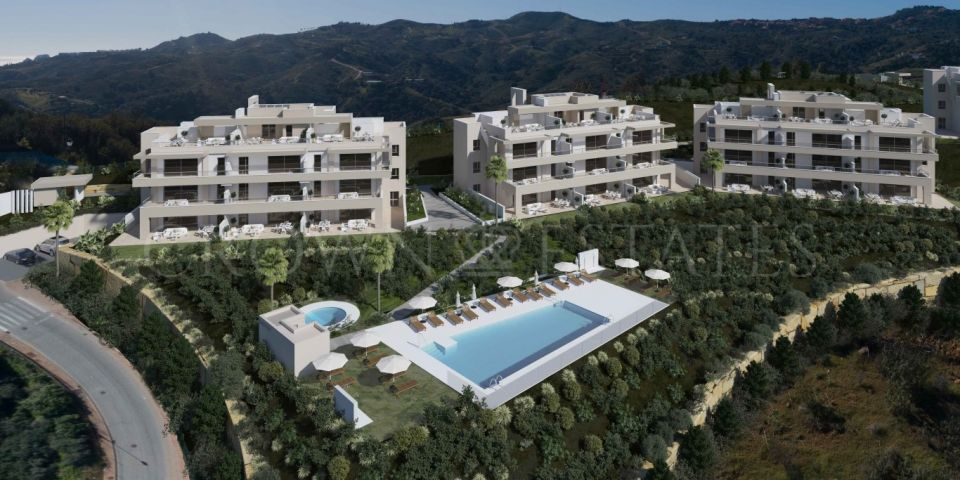 Harmony, apartments for golf lovers in La Cala Golf Resort in Mijas Costa