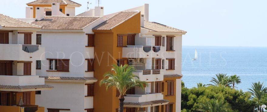 La Recoleta, Mediterranean style beachfront apartments in Punta Prima, Torrevieja