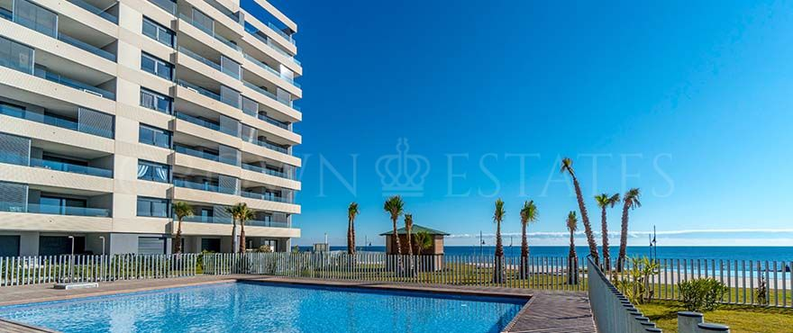 Panorama Mar, frontline beach apartments in Punta Prima, Torrevieja.