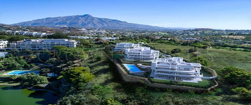 Le Caprice, exclusive ground floors and duplex penthouses in La Quinta Golf in Benahavis