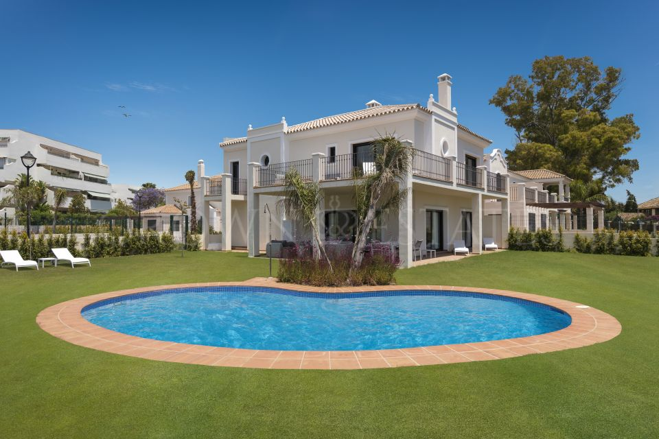 An outstanding opportunity for modern family living... and investment with these Luxury Villas in Marbella