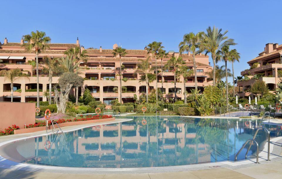 Luxury beach side apartment in Puerto Banus, Marbella