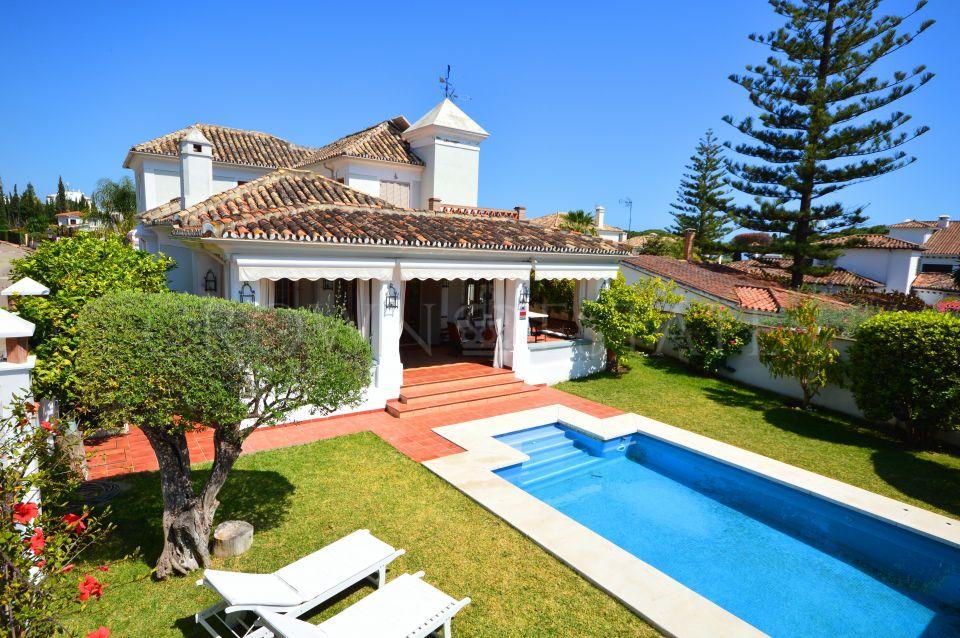 Nice villa on Golden Mile, Marbella