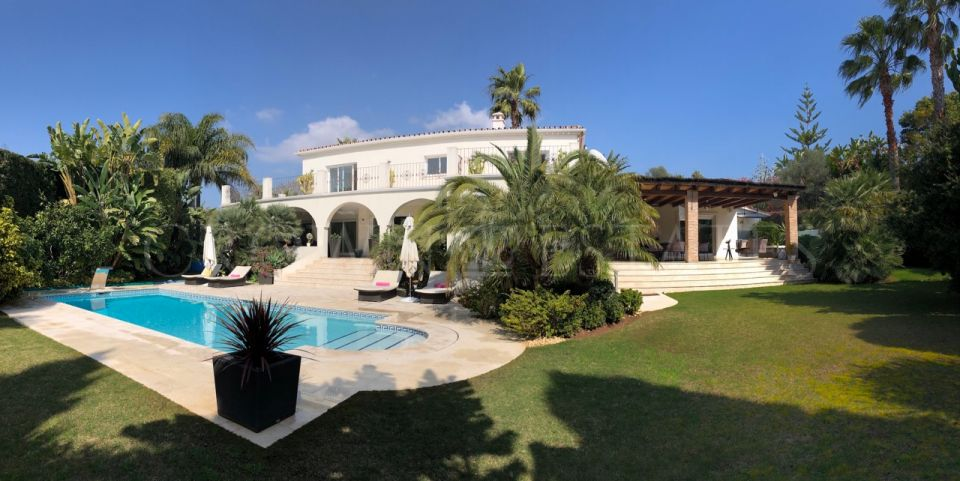 Spectacular villa located in the heart of Nagüeles