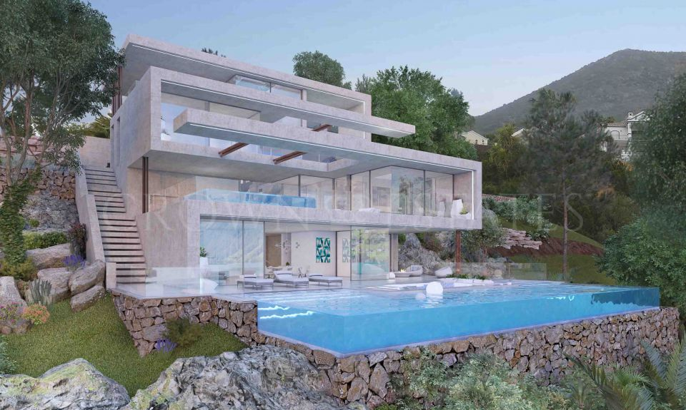 Brand new villa with breathtaking sea views