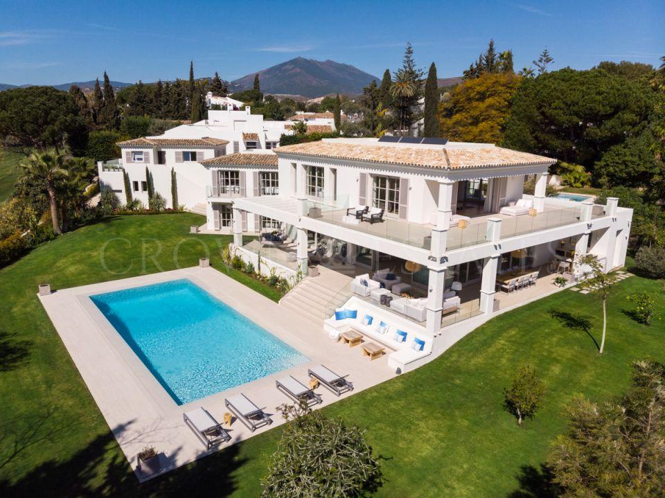 A contemporary villa in Nueva Andalucia, Marbella