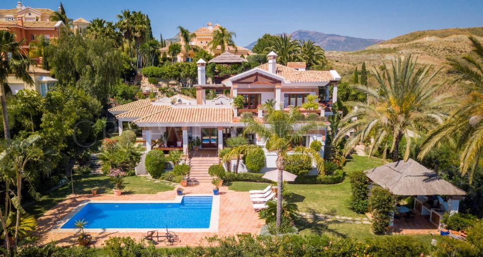 Villa for rent in Los Flamingos Golf, Benahavis