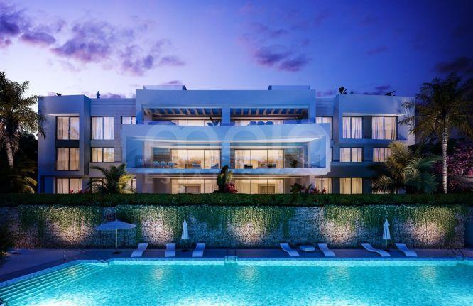 New development of contemporary apartments in Santa Clara Golf