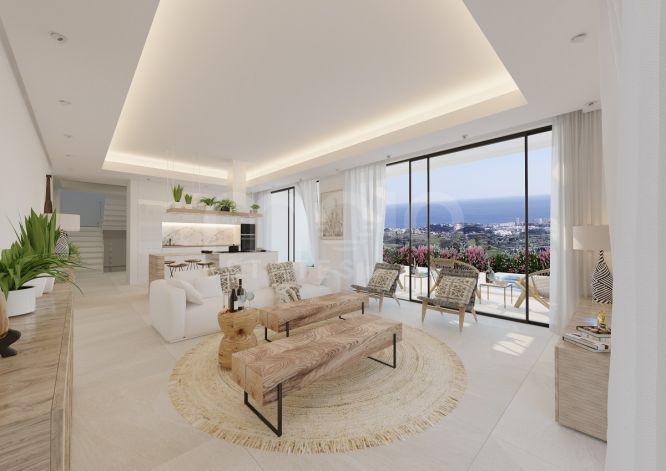 BRAND NEW MODERN 4 BEDROOM VILLA CLOSE TO MIJAS PUEBLO