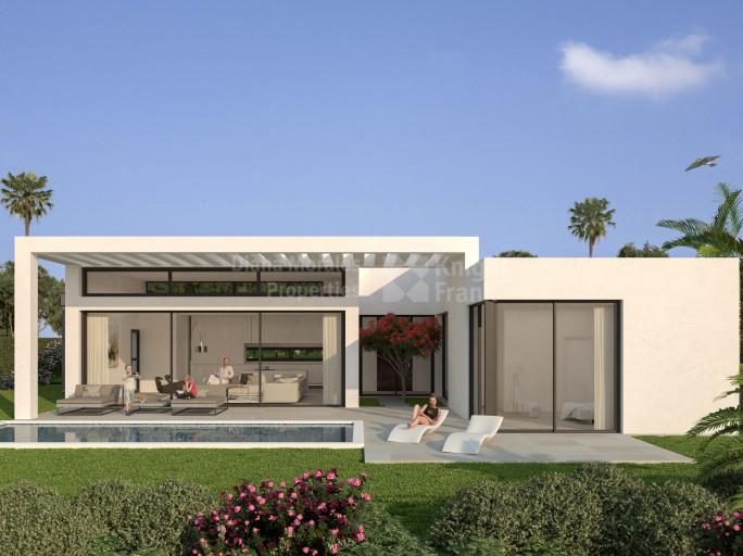 Estepona, Casa de una Sola Planta en Construcción
