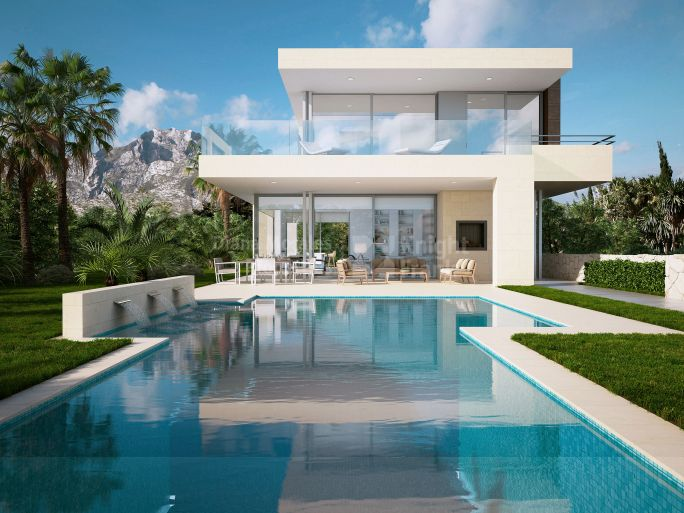 Turn key project in Nagueles - Villa for sale in Nagüeles, Marbella Golden Mile