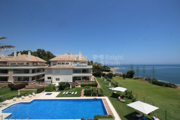 Estepona, Corner Unit Front Line Beach Apartment in the New Golden Mile