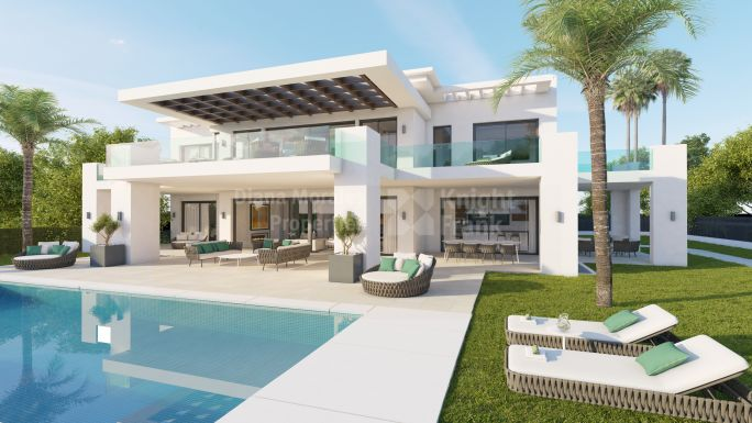 Nueva Andalucia, Contemporary Home in the Golf Valley