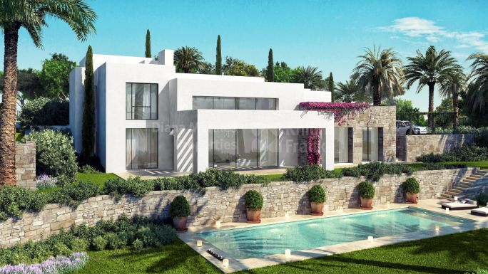 Casares, House Under Construction within Golf Course