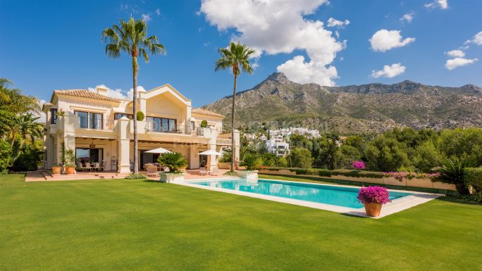 Villa à Marbella Golden Mile