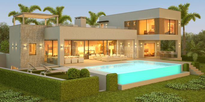 Benahavis, Modern Style House under Construction