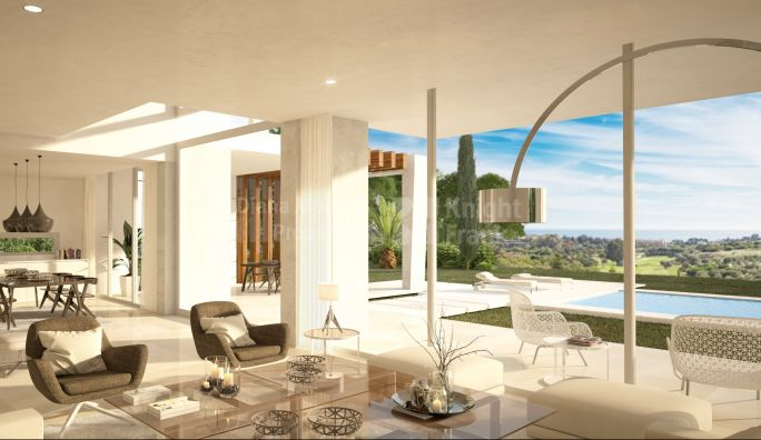 Marbella East, Villa of Contemporary Design Under Construction