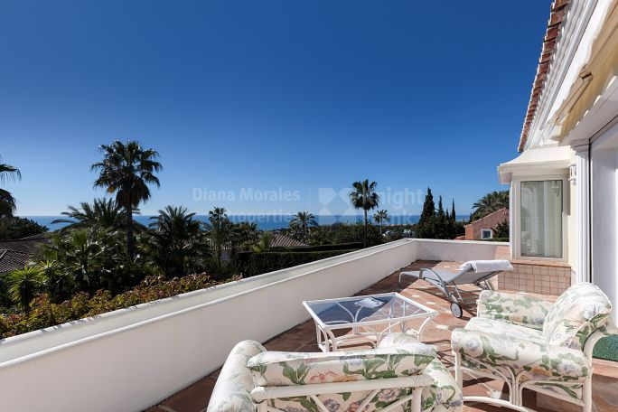 Marbella Golden Mile, Fantastic villa with panoramic views in Golden Mile