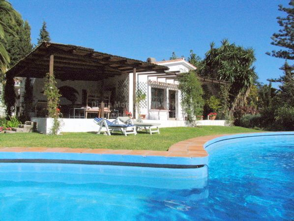 Marbella Golden Mile, Secluded Property with Lots of Potential