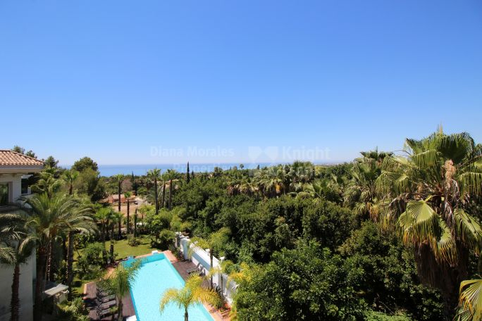 Marbella Golden Mile, Splendid duplex penthouse with sea views