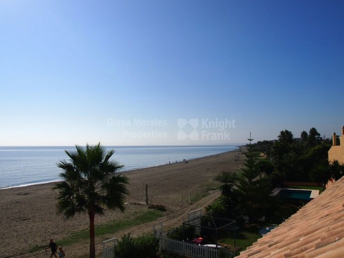 Estepona, Seafront Townhouse Within Gated Community