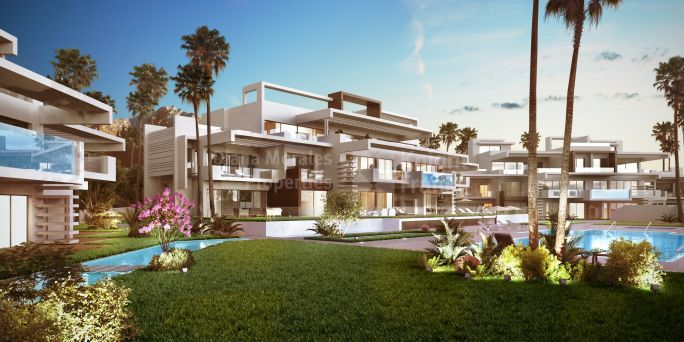 Marbella Town, New Golden Mile Ground Floor Apartment