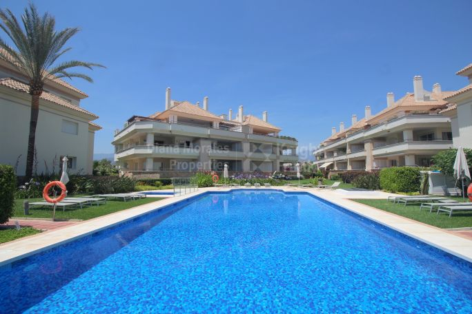 Estepona, New Golden Mile Corner Unit Front Line Beach Apartment