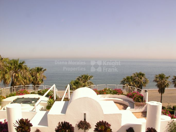 Estepona, First Line Beach Duplex Penthouse