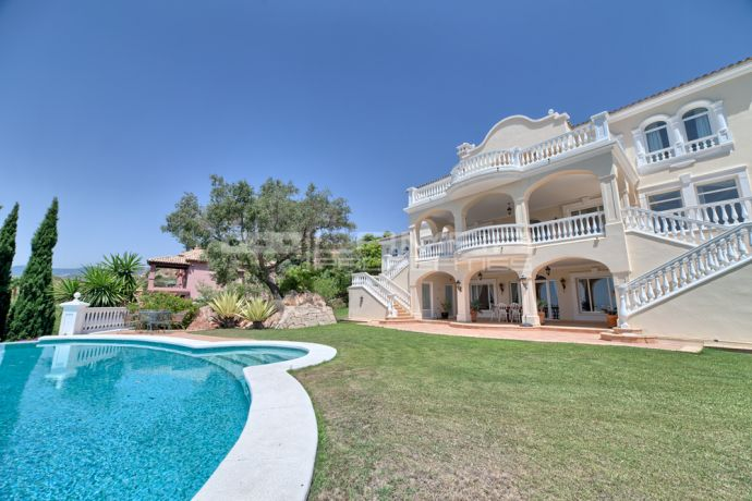 Commanding sea and golf views at the Marbella Club Golf Resort