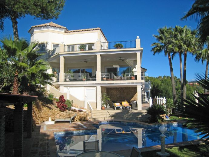 For sale villa Hacienda Las Chapas - Marbella - Sea views