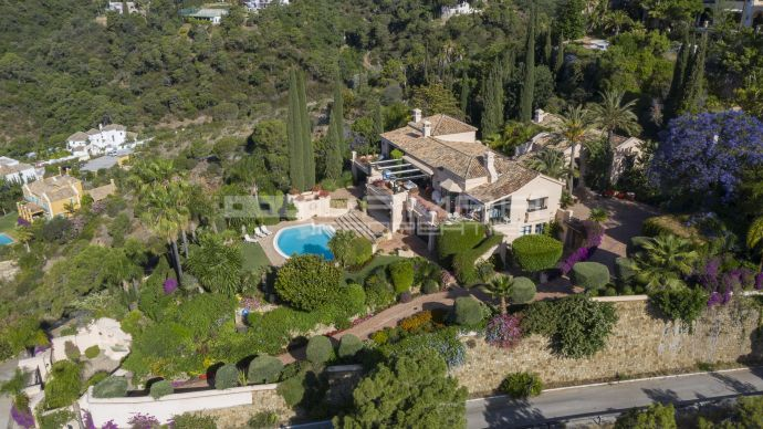 Villa El Madroñal - Benahavis - Marbella - Panoramic sea views