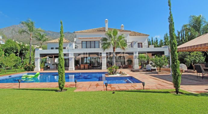 Spacieuse villa au Golden Mile de Marbella - Sierra Blanca