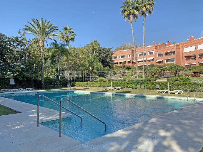 Great location on Marbella's Golden Mile